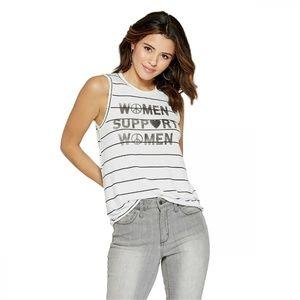 NEW Grayson Threads 's Support Women Top XL White